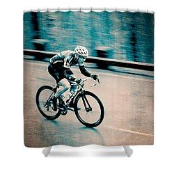 Shower Curtain featuring the photograph Full Speed Ahead by Ari Salmela
