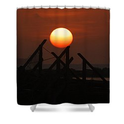 Shower Curtain featuring the photograph Full Sun by Leticia Latocki