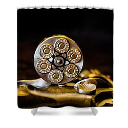 Shower Curtain featuring the photograph Fully Loaded by Deniece Platt