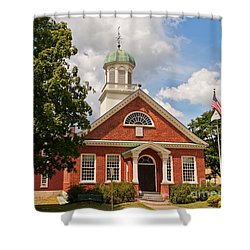 Shower Curtain featuring the photograph Fulton County Court House by Sue Smith