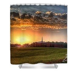 Fumc Sunset Shower Curtain