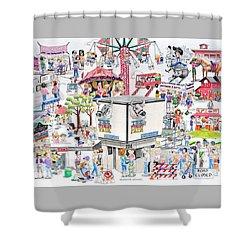 Fun Fair Shower Curtain