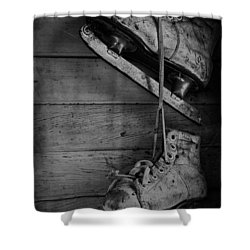Fun With Father  Shower Curtain by Empty Wall