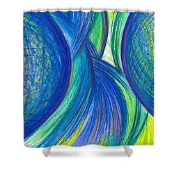 Fun With Ideas Shower Curtain by Kelly K H B