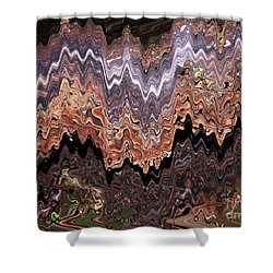 Fungi Art Shower Curtain by Sharon Talson