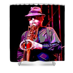 Funky Doctor Shower Curtain
