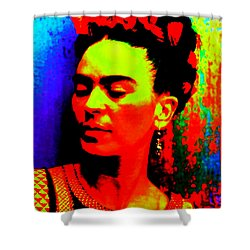 Funky Frida Shower Curtain