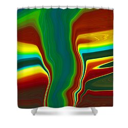 Funnel Cloud  C2014 Shower Curtain