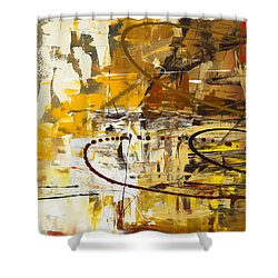 Funtastic 1 Shower Curtain by Carmen Guedez