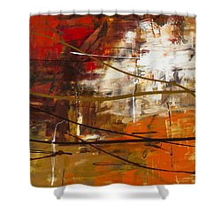 Funtastic 2 Shower Curtain by Carmen Guedez