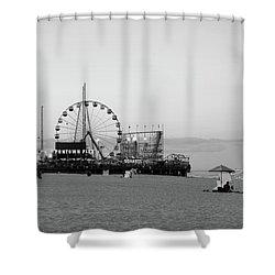 Funtown Pier - Jersey Shore Shower Curtain