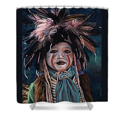 Fur And Feathers Shower Curtain