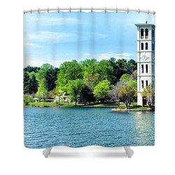 Furman Lake Shower Curtain
