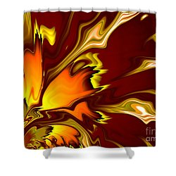 Furnace Shower Curtain