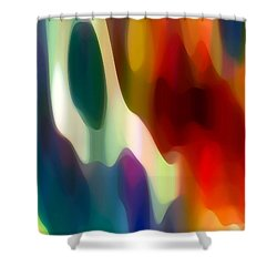 Fury 2 Shower Curtain by Amy Vangsgard