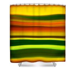Fury Sea 4 Shower Curtain by Amy Vangsgard
