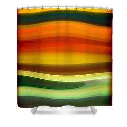 Fury Sea 6 Shower Curtain by Amy Vangsgard