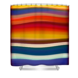 Fury Sea 8 Shower Curtain by Amy Vangsgard