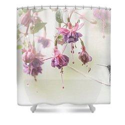 Fuschia Dreams Shower Curtain