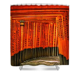 Fushimi Inari Shower Curtain
