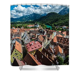 Fussen - Bavaria - Germany Shower Curtain