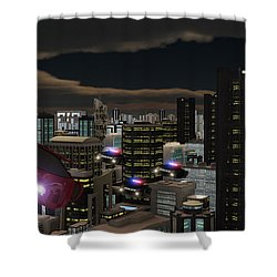 Futura 2051 Shower Curtain