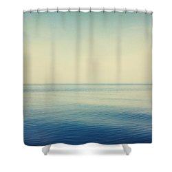 Fv4281, Bert Klassen Water And Sky Shower Curtain by Bert Klassen