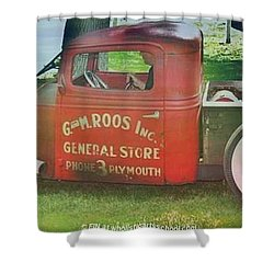 G And M Roos Inc. Shower Curtain by PainterArtist FIN