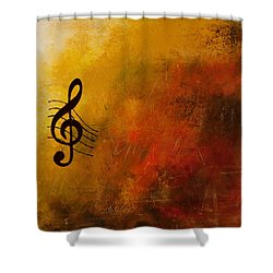 G Symphony Shower Curtain