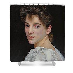 Gabrielle Cot After W. Bougereau Shower Curtain