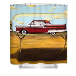 Galaxie In A Bottle Shower Curtain by Leah Saulnier The Painting Maniac