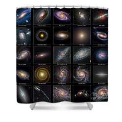 Galaxy Collection Shower Curtain
