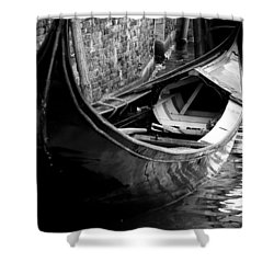 Galleggiante - Venice Shower Curtain by Lisa Parrish