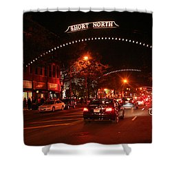 Gallery Hop In The Short North Shower Curtain