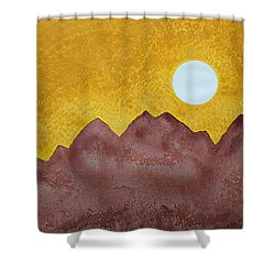 Gallup Original Painting Shower Curtain