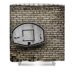 Game Over - Urban Messages Shower Curtain by Steven Milner