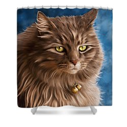 Gandalf Shower Curtain by Michelle Wrighton