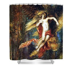 Ganymede Shower Curtain by Gustave Moreau