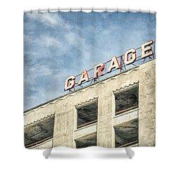 Garage Shower Curtain by Scott Norris