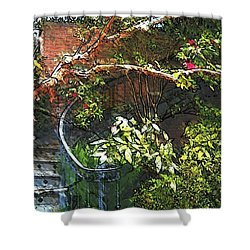 Garden Climb  Shower Curtain
