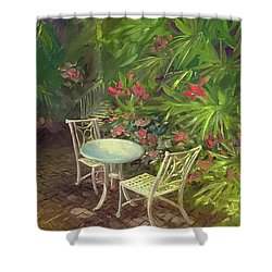 Garden Conversation Shower Curtain