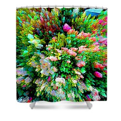 Garden Explosion Shower Curtain