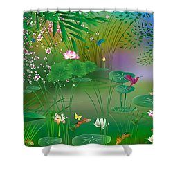 Garden - Limited Edition 1 Of 20 Shower Curtain