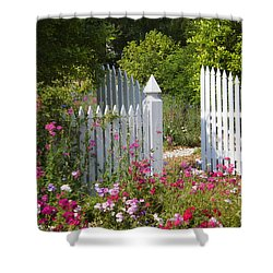 Garden Gate Shower Curtain