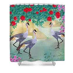 Garden Light - Limited Edition Of 15 Shower Curtain