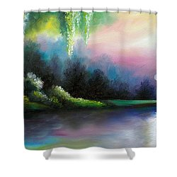 Garden Of Eden I Shower Curtain