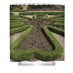 Shower Curtain featuring the photograph Garden Of Peace by Tracey Williams