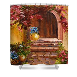 Garden Of Serenity Shower Curtain