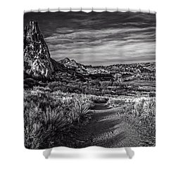 Garden Of The Gods 20 Shower Curtain by F Leblanc
