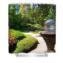 Garden Of Wishes Shower Curtain